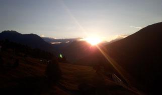 Ferienwohnung Zimbablick, Wandern in Vorarlberg