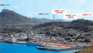 防衛省が示した沿岸監視レーダー設置のイメージ