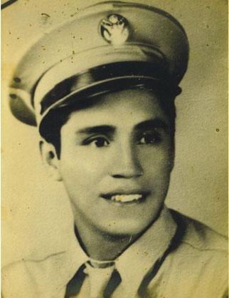 Waist Gunner Roy Zermeno (courtesy Zermeno Family)