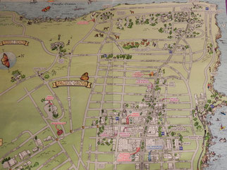"Übersichts Karte ""Pacific Grove"""