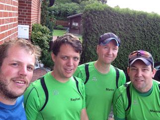 v.l. Thorsten,Raphael,Martin,Markus