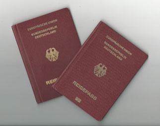 Reisepass Europäische Union Bundesrepublik Deutschland