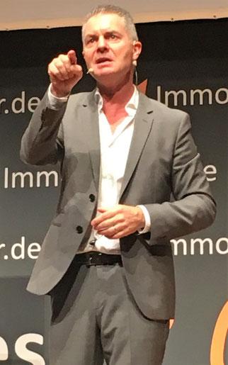 freaky finance, Dirk Kreuter, Immopreneur Kongress 2018, Hauptbühne, Darmstadtium