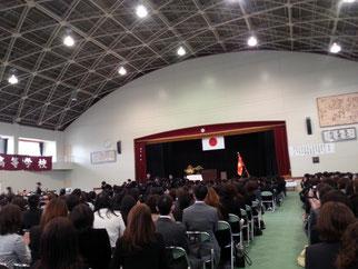 卒業式へ(^^♪