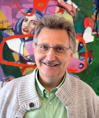 Stephan Klinkhamels leitet das Trauerzentrum des Bistums Hamburg in Hamburg-Stellingen. Foto: C. Schumann, 2019