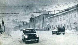 На улицах Якутска.