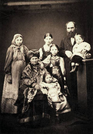 Семья купца Акепсима Кушнарева