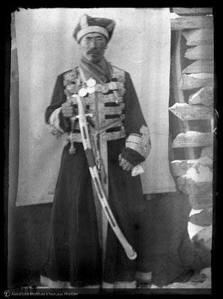 Чукотский король. Снимок В. Йохельсона