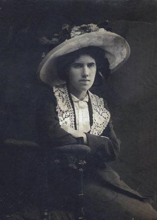 Мария Евстратьевна Зуева. Из архива семьи Зуевых