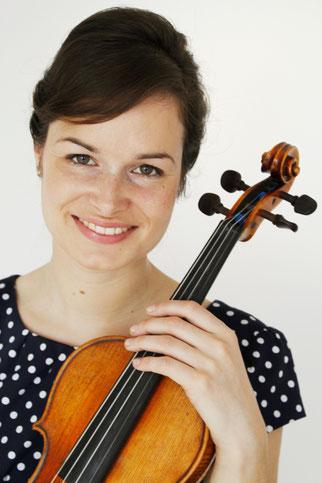 Isabelle Fahy - Geigerin und Instrumentalpädagogin (B.A.)