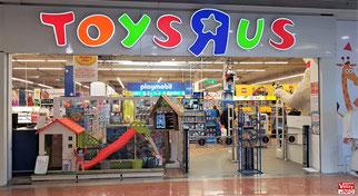 Le Toys'R'Us du centre commercial Vélizy2 - Juin 2019.