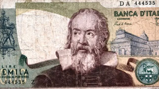 Galileo sulle £ire