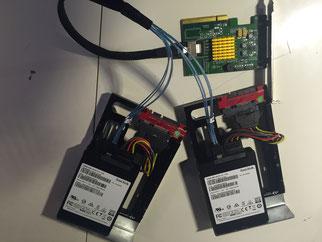 RocketRaid 2710 + 4 SSD X400 SanDisk