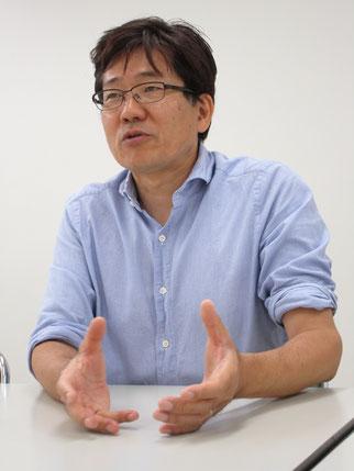 VCはいわばお金の灌漑工事をする人と語る磯崎さん