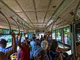 local bus in Havanna