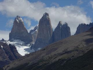 Torres del Paine, Torres del Paine mit Kindern