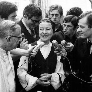 Simone de Beauvoir, féminisme