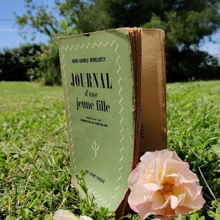 Irène-Carole Reweliotty, Journal d'une jeune fille, auteure