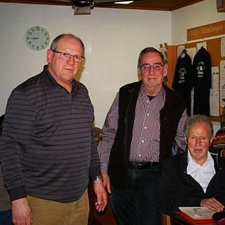 Georg Fischer, Walter Hirmke, Bernd Ehrlich