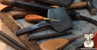 Paris saddle leather workshop trunk Louis Vuitton