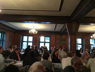 Die große Mehrheit der Delegierten folgte Bachs Vorschlag  Foto: SPD