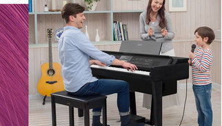 yamaha cvp ensemble piano als familieninstrument