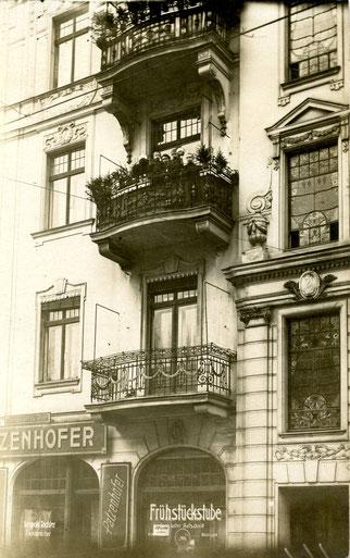 Kreuzstr. 17 C, Berlin Pankow, Reinhold Burger, Erfinder der Thermosflasche