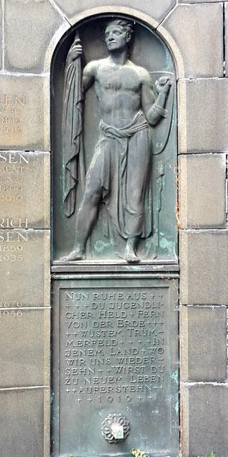 Grabmal Külsen August Schreitmüller Johannisfriedhof Dresden Bild: Susann Wuschko