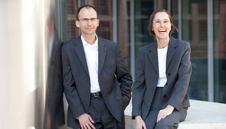 Ehrenfried und Brigitte Conta Gromberg im Doppelporträt