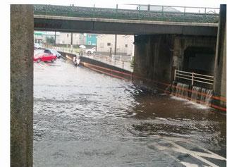 8月台風災害