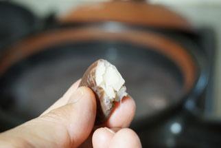 仲本律子 茨城県笠間市 陶芸作家 女性陶芸家 土鍋作品 土鍋 ブログ 土鍋料理 豆料理