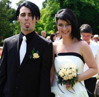 Katrin und Sascha, Hochzeit im Rosengarten, Fürther Stadtpark