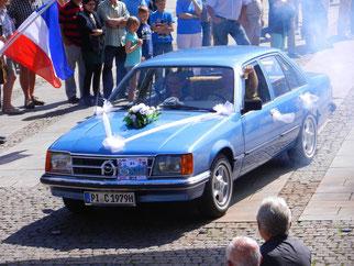 Opel Commodore C Hochzeit