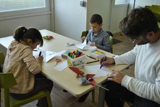 Centre Social ALCO Amiens Nord Activités manuelles vacances