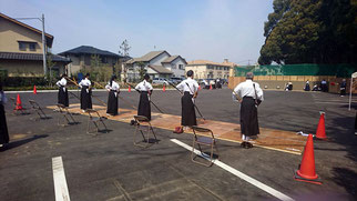 草加チーム(写真提供:川口市弓道連盟Sさん)