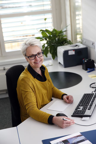 «Meine Arbeit ist sehr abwechslungsreich und interessant. Ich habe fast nur mit angenehmen Menschen zu tun. Sie wollen alle arbeiten», schwärmt Chantal Godel.