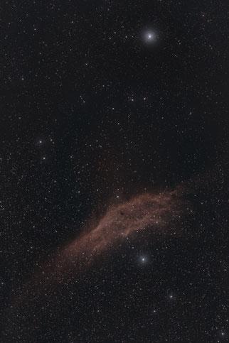 Kaliforniennebel - Version 1                                          (Deep Sky Stacker + PS CC)