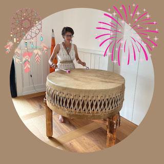 Drachentrommeln, Pachamama Trommel, Muttererde Trommel, Mothererath Drum