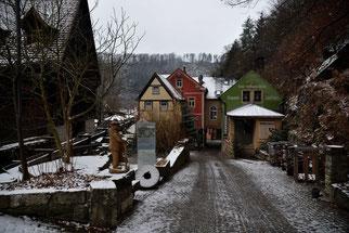Biodorf Schmilka mit der aktiven Mühle