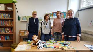 Unsere Jury 2019 (v.l.: Frau Berger, Frau Oswald, Frau Kaiser und Frau Schauer)
