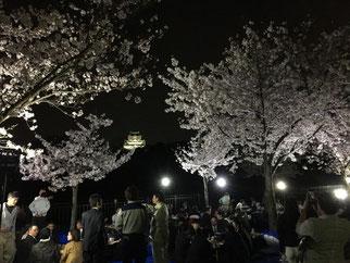 大阪城では夜間のバーベキューも楽しめる!