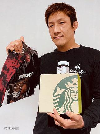 ▲ストラッグル代表 鈴木秀明