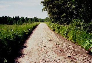 doe Strasse zur finnischen Grenze
