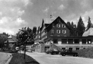 die Alexander-Schanze auf der Schwarzwaldhöhe