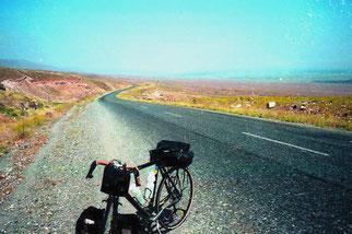 10 km lange Auffahrt zum Mt. Ararat