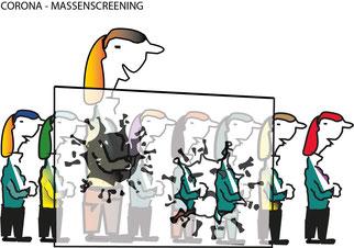 Corona – Massentestung: Können alle Lehrer*innen vom Dienstgeber zur Teilnahme verpflichtet werden? Nein, sagt ein Rechtsgutachten.  Bild:spagra