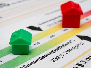 Wer über eine Anzeige eine Immobilie anbietet, muss die vollständigen Daten zum Energieverbrauch nennen. Andernfalls drohen ab Mai bis zu 15 000 Euro Strafe. Foto: Franziska Gabbert