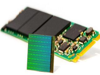 Damit sich noch größere Datenmengen speichern lassen, haben Intel und Micron ein neues 3D-Produktionsverfahren für Speicherzellen entwickelt. Foto: Intel