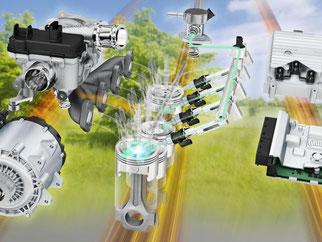 Durch den Wechsel auf 48 Volt können auch Technologien eingesetzt werden, die den Kraftstoffverbrauch senken. Foto: Continental