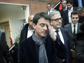 Frankreichs Ministerpräsident Manuel Valls will «die Nachricht verstanden haben». Die Solizailisten wurden in der zweiten Abstimmungsrunde abgestraft. Foto: Etienne Laurent